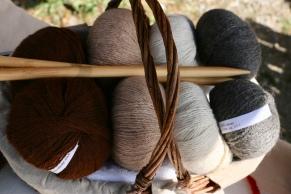pelotte de laine en alpaga