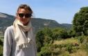 AURON: écharpe tissée main, écru et gris perle, 49€ 100% alpaga