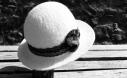 Chapeau feutré en laine d'alpaga