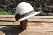 Chapeau feutré main 60€ 80% alpaga et 20% mouton