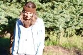 MACHU: Bandeau marron tricoté main 26€; 100% alpaga