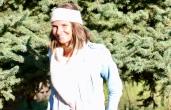 MANCORA: Bandeau écru, tricoté main 26€; 100% alpaga